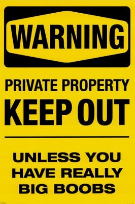 pp0351warning-keep-out-posters