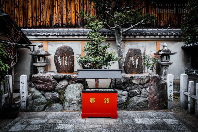 Templo en el barrio de las Geishas